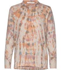 mathilda blouse lange mouwen multi/patroon rabens sal r