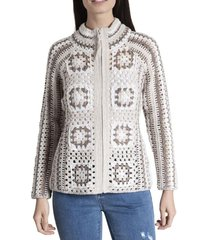 sweater mujer maya algodón beige rockford