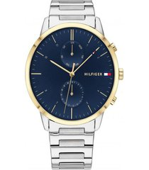 reloj tommy hilfiger 1710408 plateado acero inoxidable