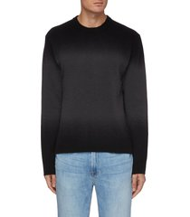 dip dye wool blend sweater
