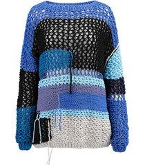 sweter ażurowy