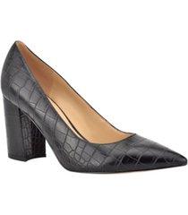 women's cara block heel dress pumps women's shoes