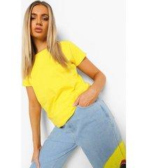 basic t-shirt, yellow