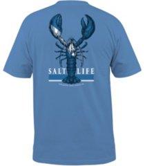 salt life men's lobster quest pocket tee