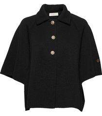 ricky cape zomerjas dunne jas zwart busnel