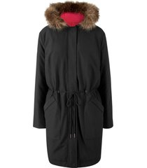 parka reversibile con vero piumino (nero) - bpc bonprix collection