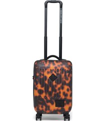 herschel supply co. trade 21-inch wheeled carry-on bag - brown