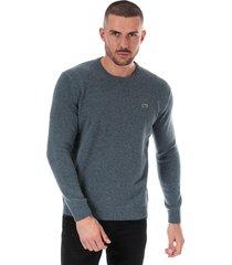 mens crew neck cotton jersey sweatshirt