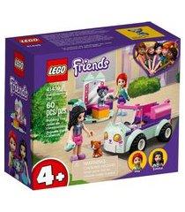 lego® friends - cabelereiro móvel para gatos 41439 lego