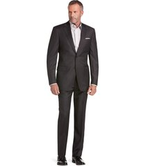jos. a. bank men's signature gold collection tailored fit suit clearance, charcoal, 40 long