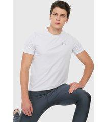 camiseta gris claro under armour speed stride