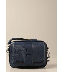 hogan crossbody bags hogan crossbody bag in textured leather