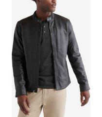 lucky brand men's clean leather bonneville jacket
