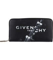 givenchy black trompe loeil wallet