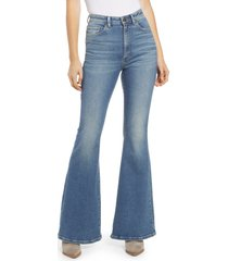 lee high waist flare jeans, size 31 in horizon at nordstrom