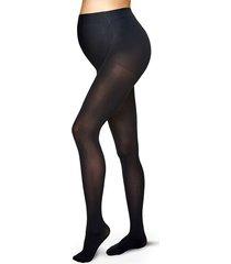 calzedonia 60 denier maternity tights woman black size 3