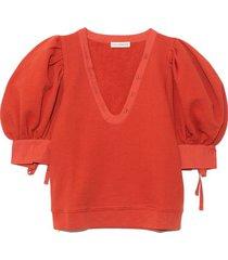 bess pullover in bossa nova