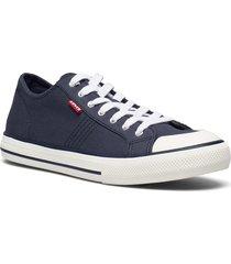 hernandez låga sneakers blå levi's shoes