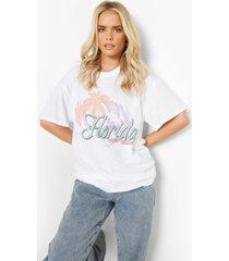 florida t-shirt, white