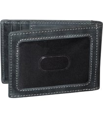men's expedition ii rfid front pocket flip wallet with money clip