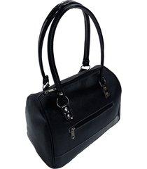 cartera negra longtemps bolso
