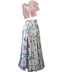 suknia z odpinanym jedwabnym topem infinity