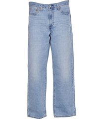 levis stay loose blue jeans