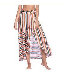 salida de baño falda multicolor veranda