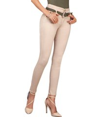 jeans colombiano lina beige daxxys jeans