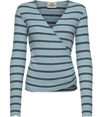super stripe tamolly t-shirts & tops knitted t-shirts/tops multi/patroon mads nørgaard