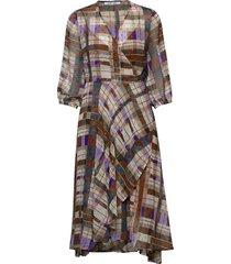 veneta dress aop 11243 knälång klänning multi/mönstrad samsøe samsøe