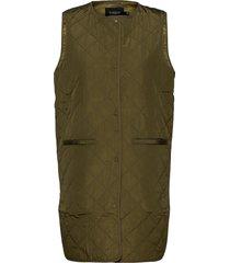 slumina waistcoat vests padded vests grön soaked in luxury