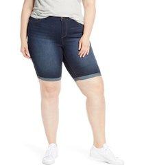 plus size women's 1822 denim bermuda shorts