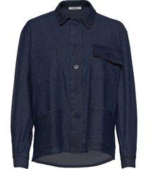 adeen shirt overhemd met lange mouwen blauw nué notes