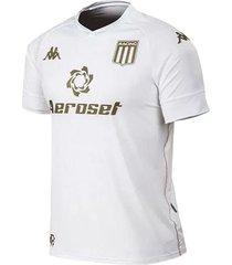 camiseta blanca kappa racing club kombat white
