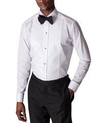men's eton trim fit formal shirt, size 15.5 - white