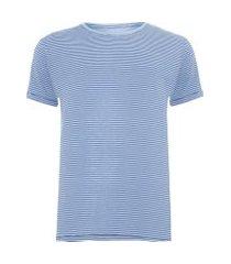t-shirt masculina índigo - azul