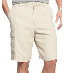 "tommy bahama men's 9.5"" key grip cargo shorts, created for macy's"