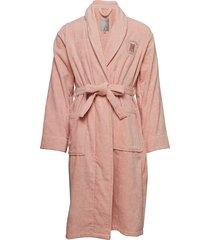 hotel velour robe ochtendjas roze lexington home