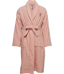 hotel velour robe badjas roze lexington home