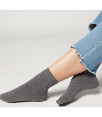 calzedonia 50 denier soft touch socks woman grey size tu