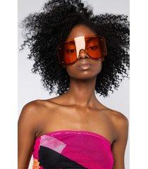 akira hater blockers orange shield eyewear