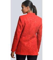 kavaj alba moda röd
