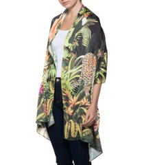 inc rainforest oblong wrap scarf, created for macy's