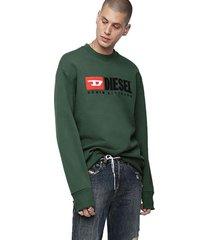 sweater s crew division sweat shirt 5hs verde diesel