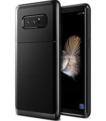 galaxy note 8 case, (gardien - black metallic) tough rugged protection full body