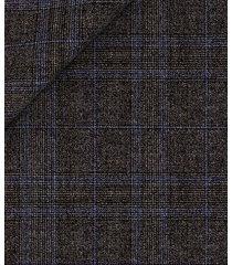 pantaloni da uomo su misura, reda, 150's grigi principe di galles, quattro stagioni   lanieri