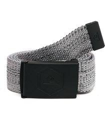 cinturón gris-negro quiksilver principle iii