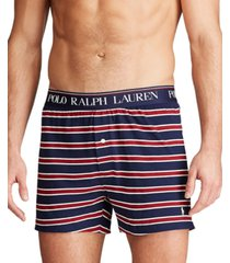 polo ralph lauren men's logo-print knit boxer briefs