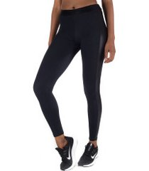 calça legging fila studio rib - feminina - preto
